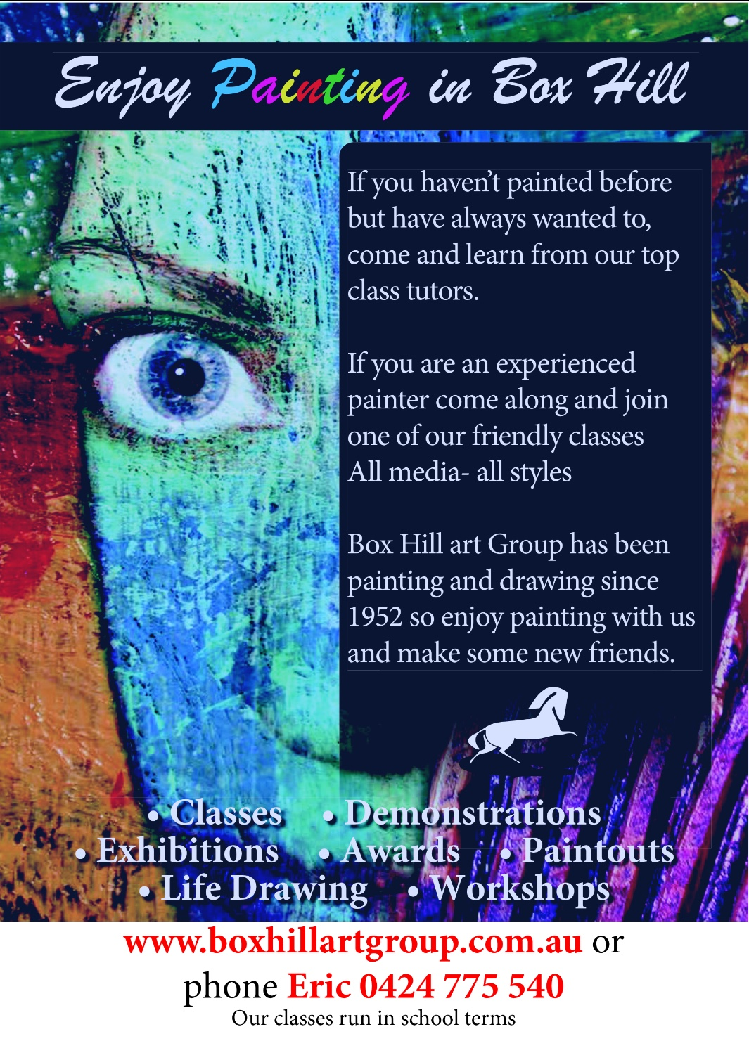 Box Hill Art Group - Adult Art Classes