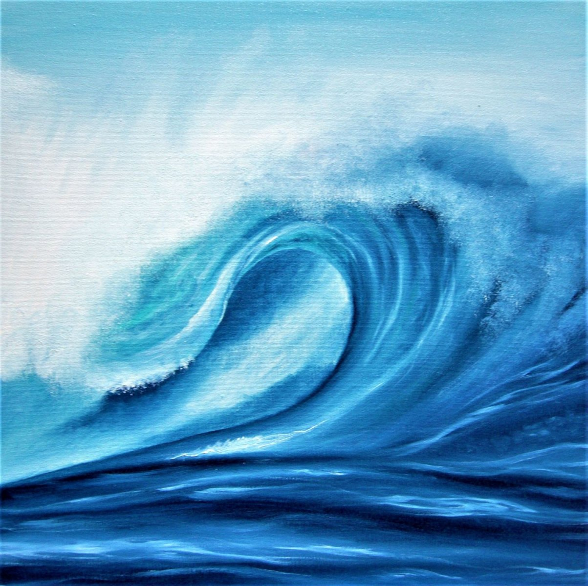 Gemma Louise Pap - Exhilaration - blue