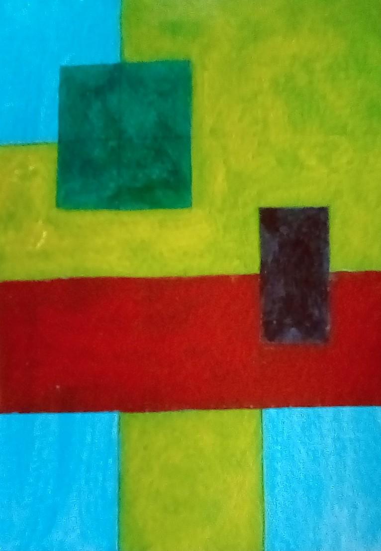 Karen Connolly - Colours of VG 12 Sunflowers