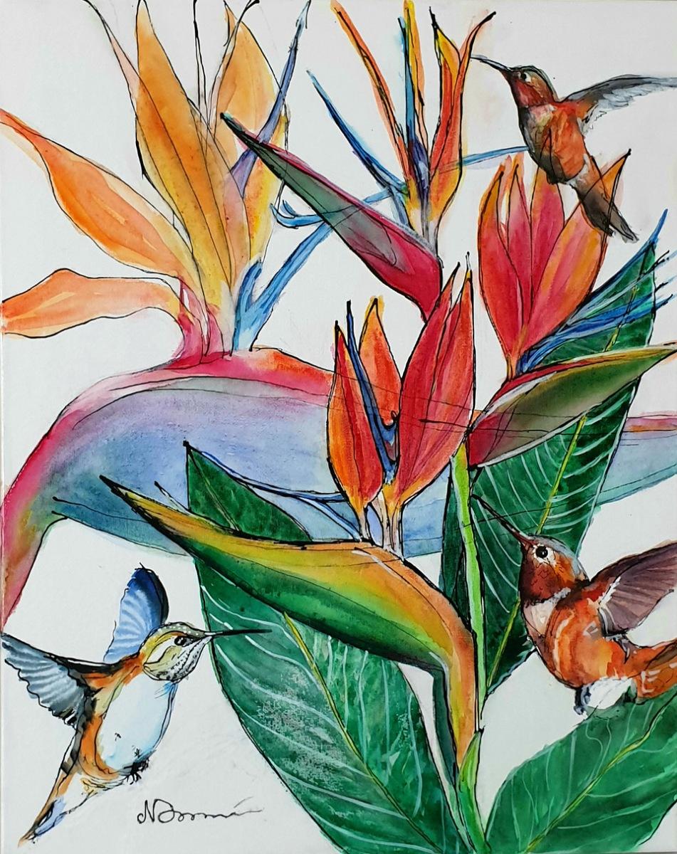 Natalie Doubrovski - Birds of Paradise