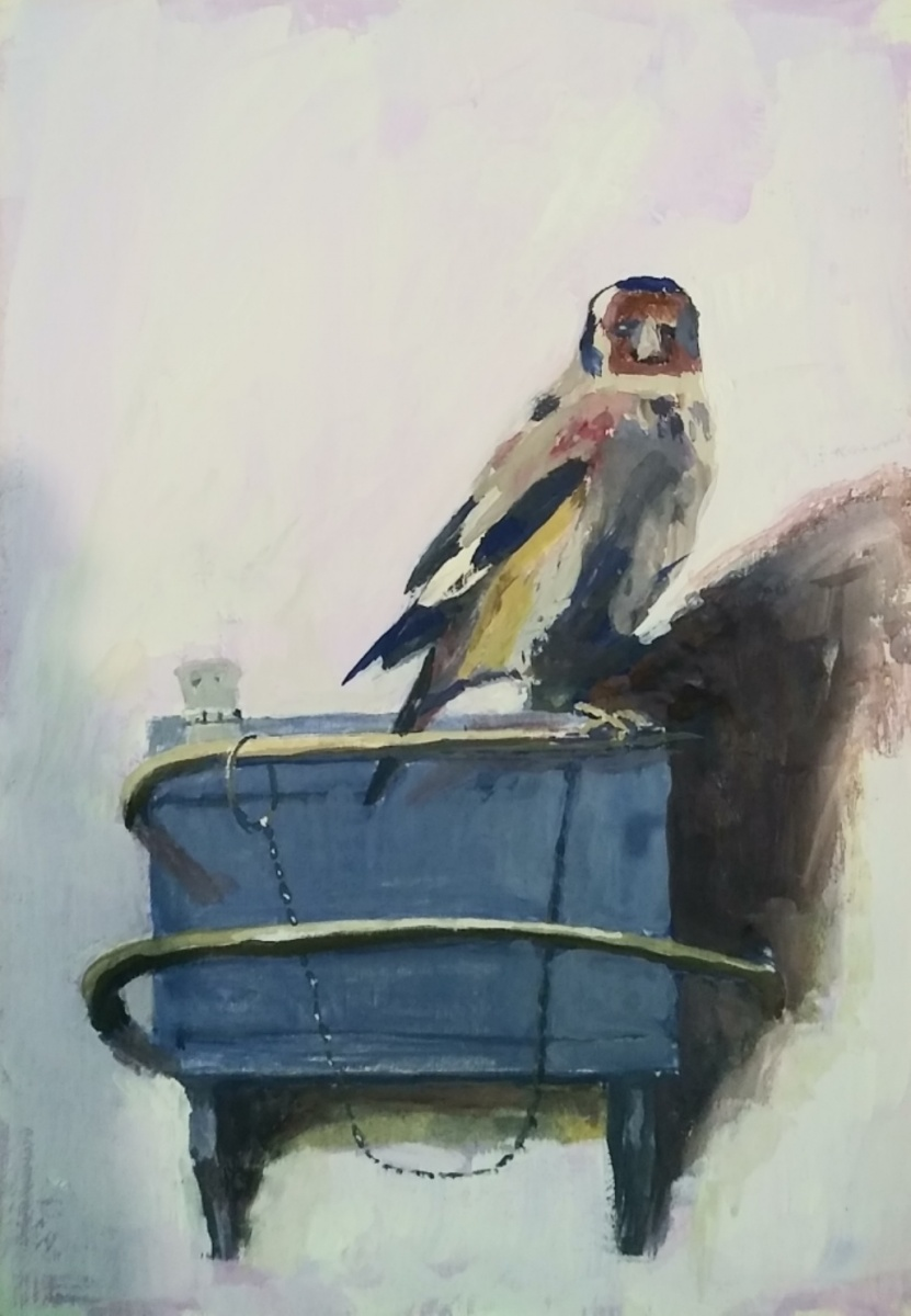 Eric Harvey - The Gold Finch after Fabritius 1654