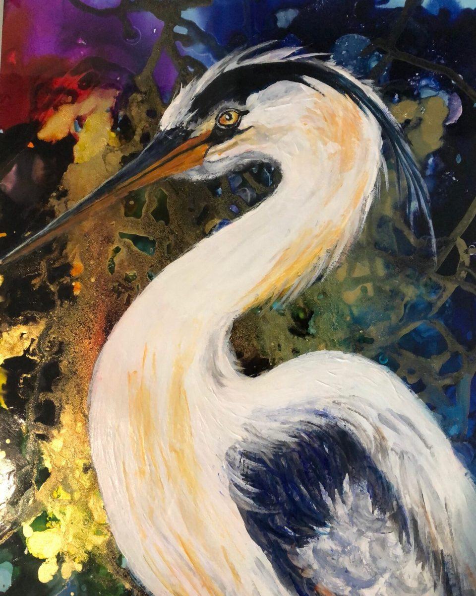 Pamela Ziedas - Great Blue Heron