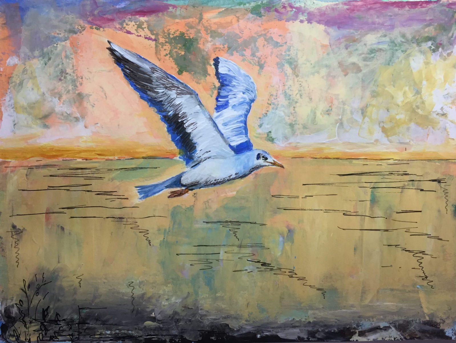 Princy Kroon - Seagull