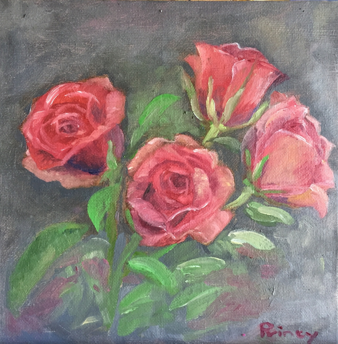 Princy Kroon - Roses - oil