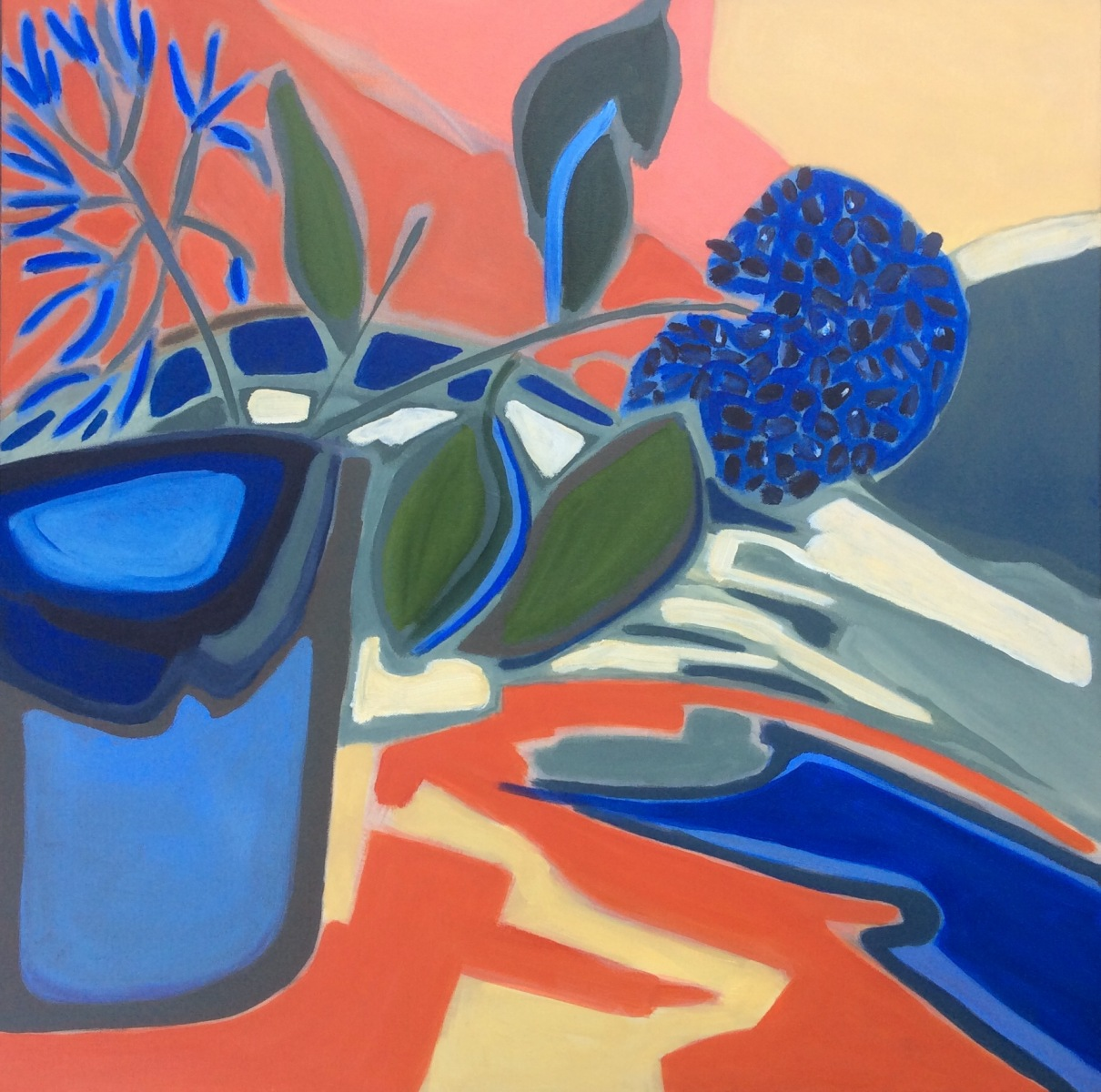 Kathy Best - Two Blue Flowers
