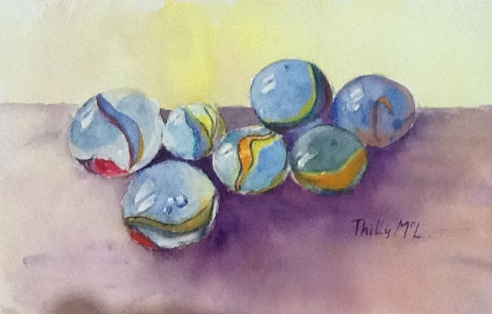 Thilly McLean - Glass Marbles