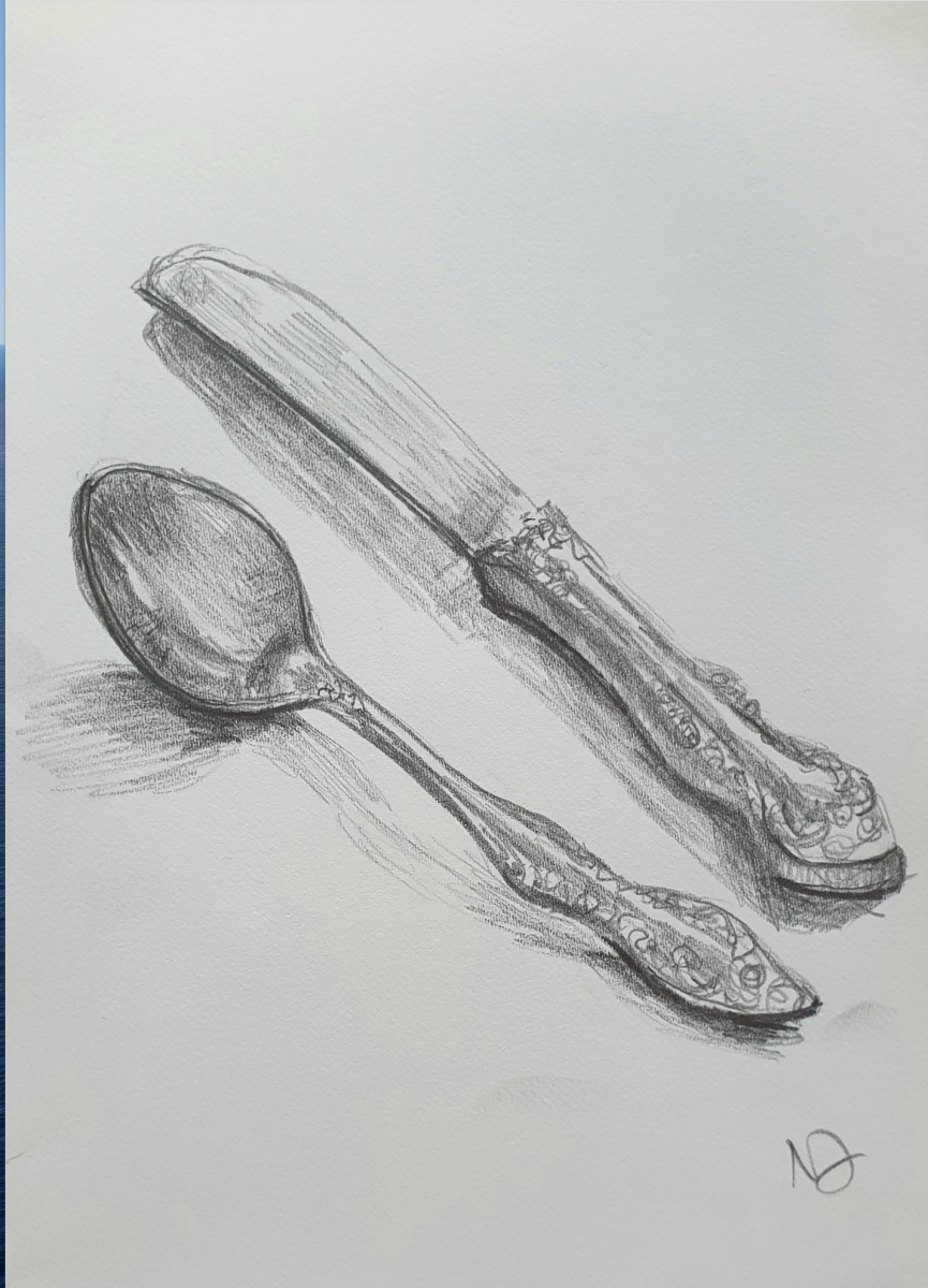 Natalie Doubrovski - Sketching Shiny Objects