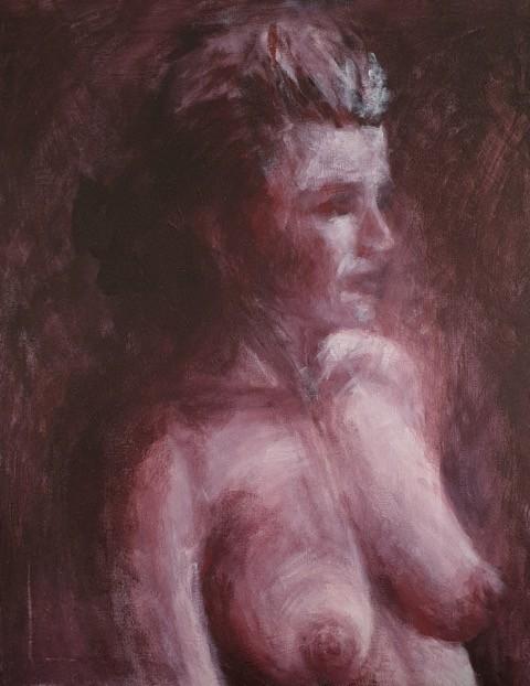 Natalie Doubrovski - From the Night - Acrylic