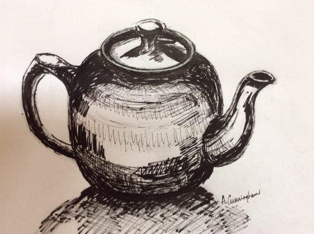 Anne Cunningham - Teapot