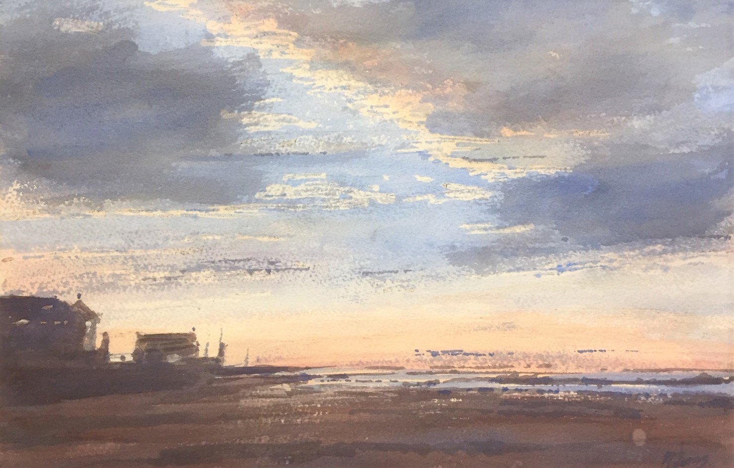 Ray Jones - Sky Light - Watercolour