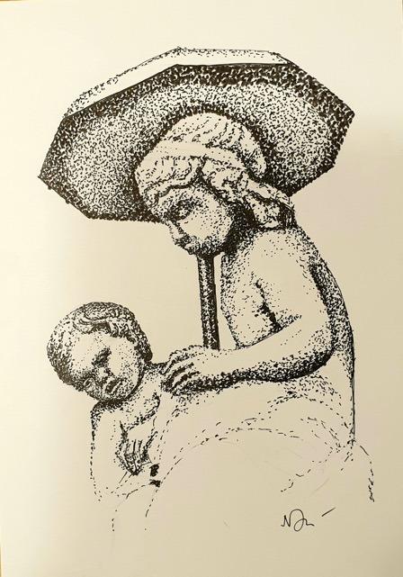 Natalie Doubrovski - Garden Sculpture