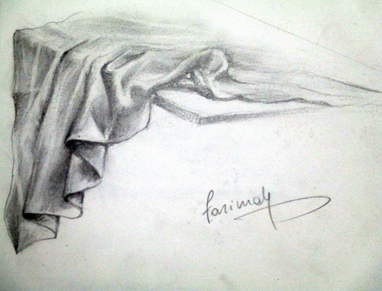 Farimah Eshraghi - Drape - Pencil