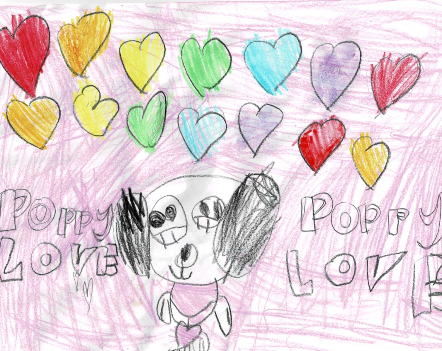 Genevieve - Age 5 - Poppy Love