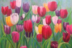 Maria Euripides - Colours - Acrylic - 51 x 41cm