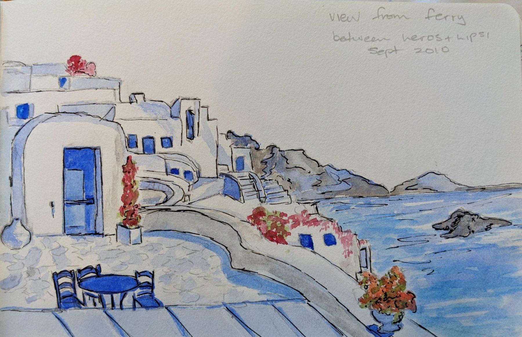 Sheryl Stuart - Greece