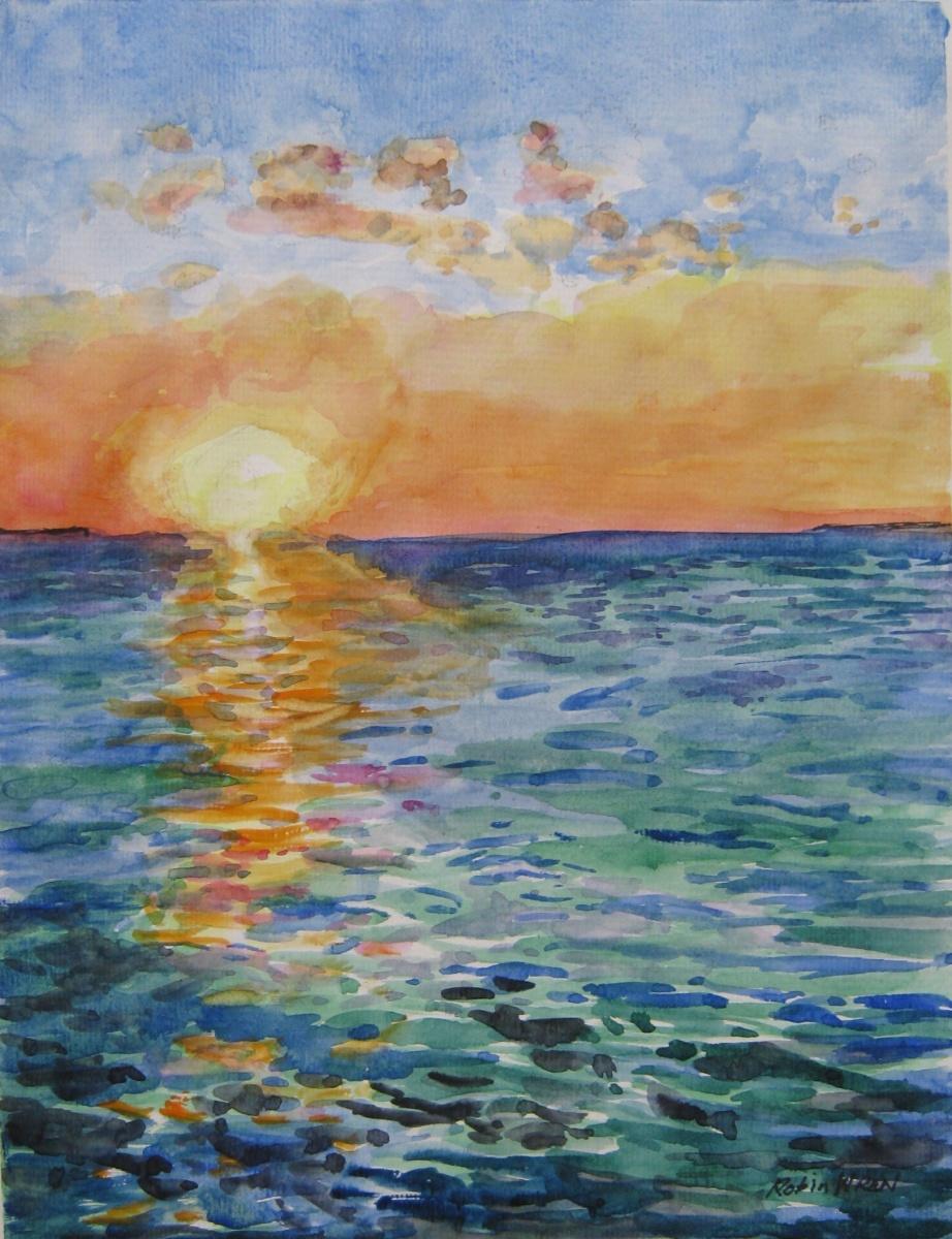 Sunset Over Darwin Harbour - Robin Wren