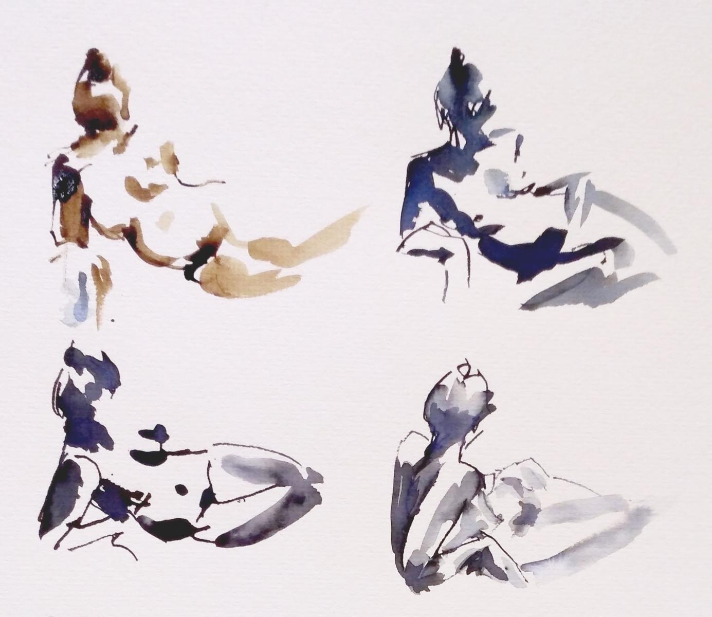 Natalie Doubrovski - Life Drawing 1