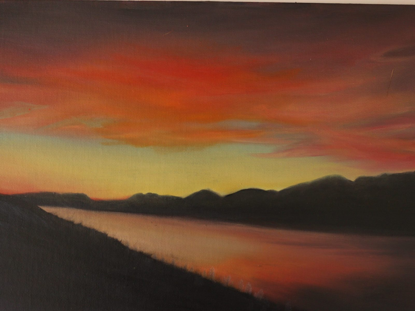Sherry Shih - Sunset in New Zealand