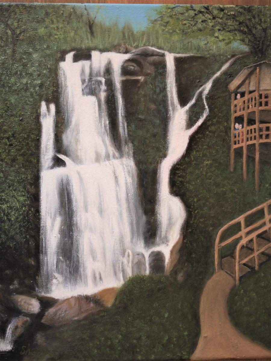 Sherry Shih - Waterfall in Taiwan