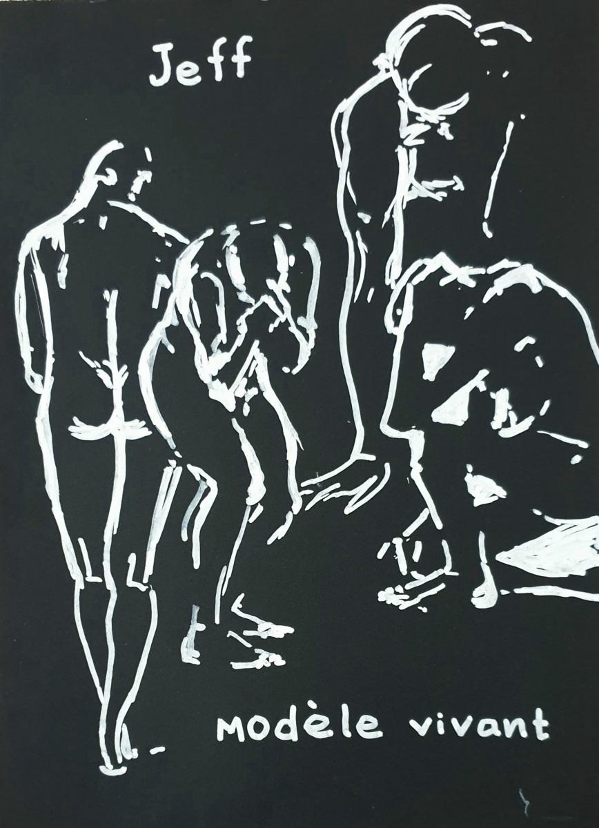 Natalie Doubrovski - Life Drawing 2