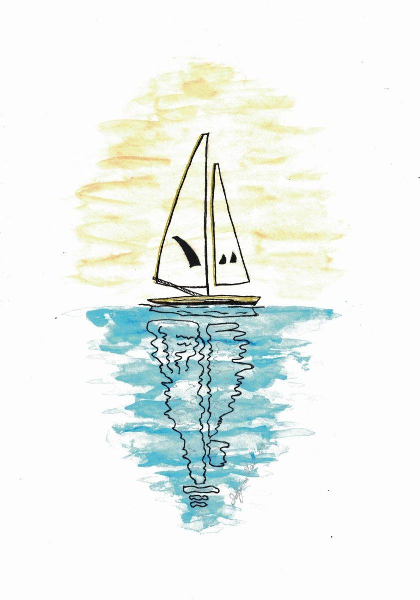 Sally Ann Glenn - Sailing Boat