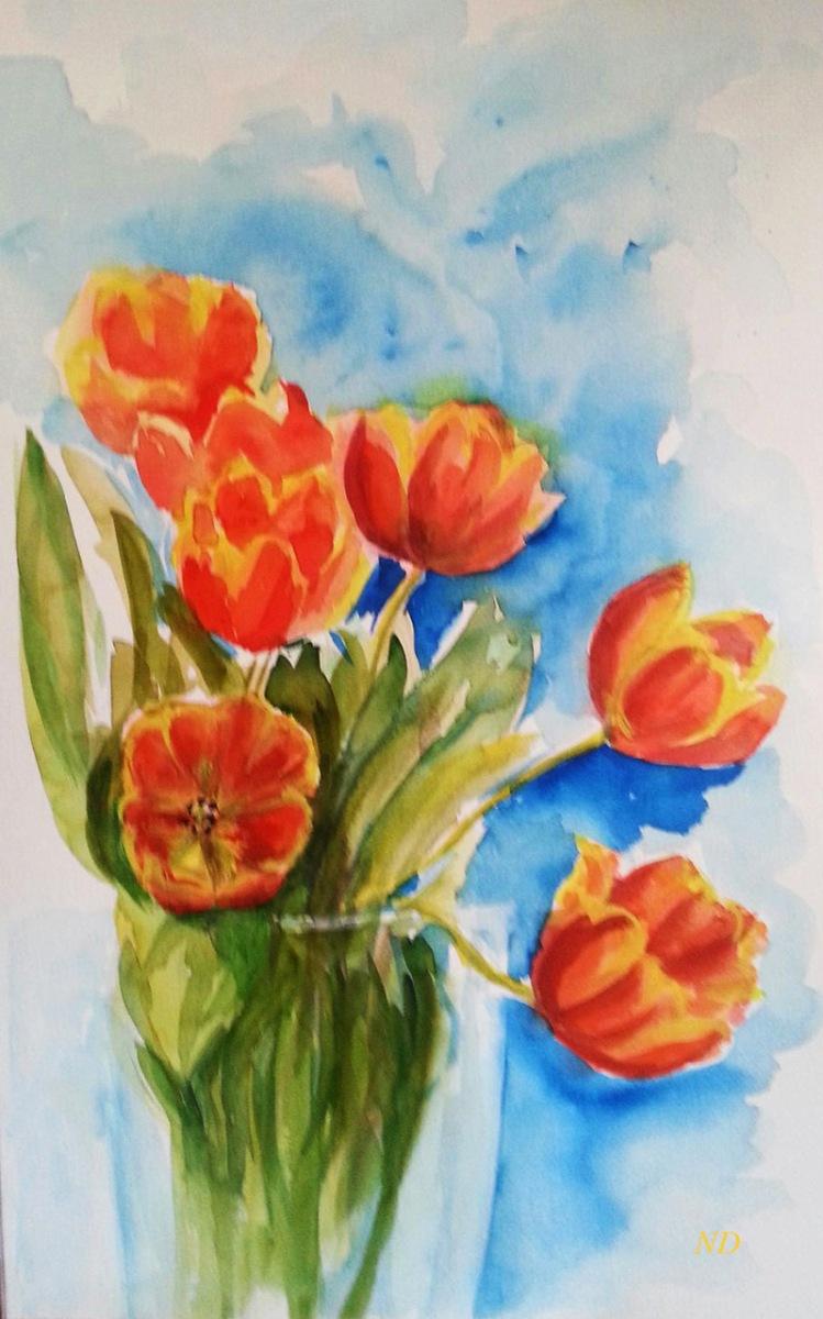 Natalie Dobrovski - Tulips