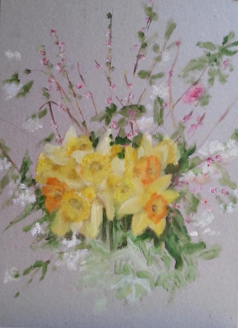 Natalie Dobrovski - Daffodils