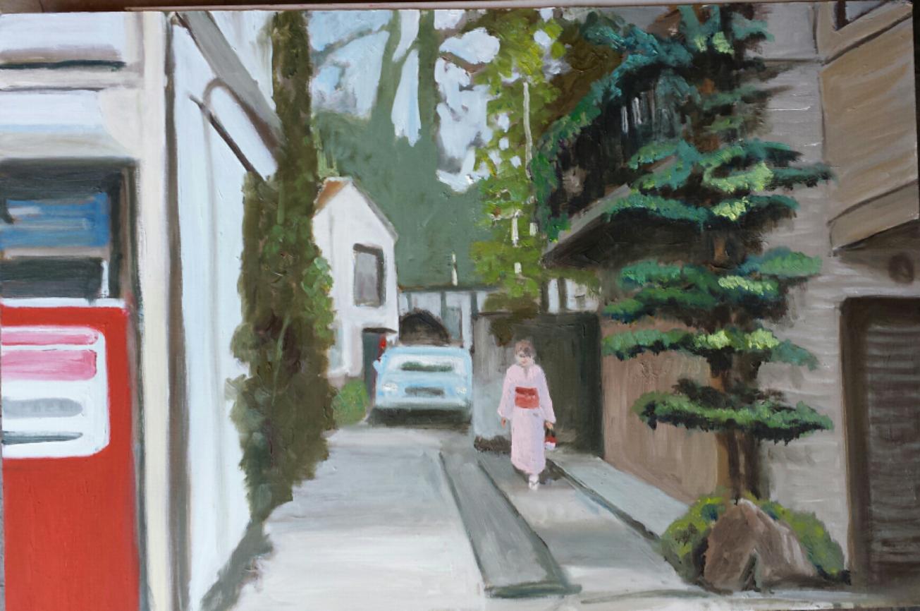 Eric Harvey - Tokyo Laneway