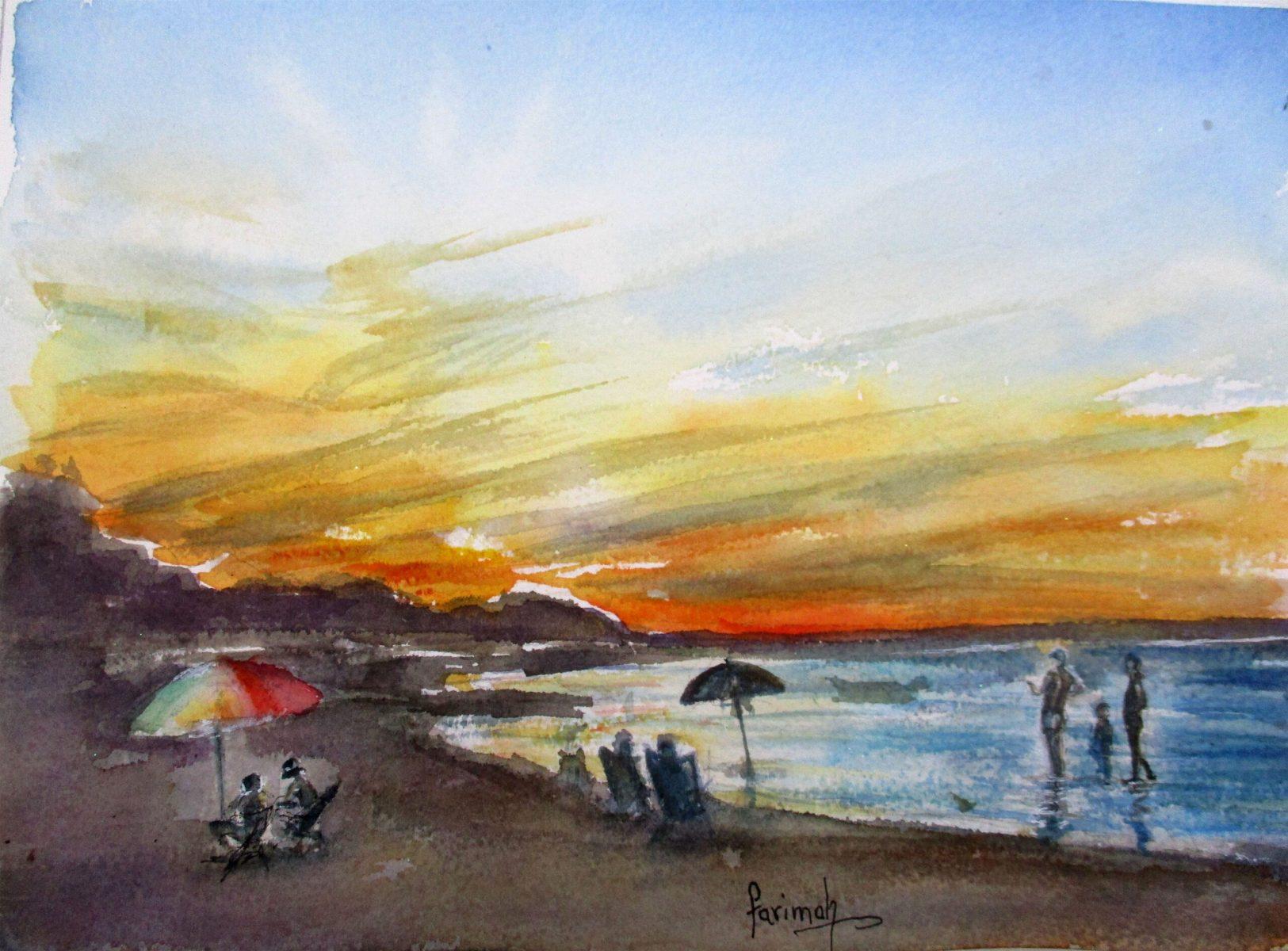 Farimah Eshraghi - At the Beach