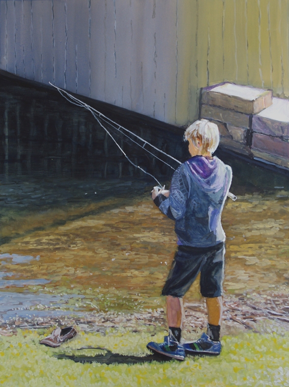 Natalie Doubrovski - Young Fisherman