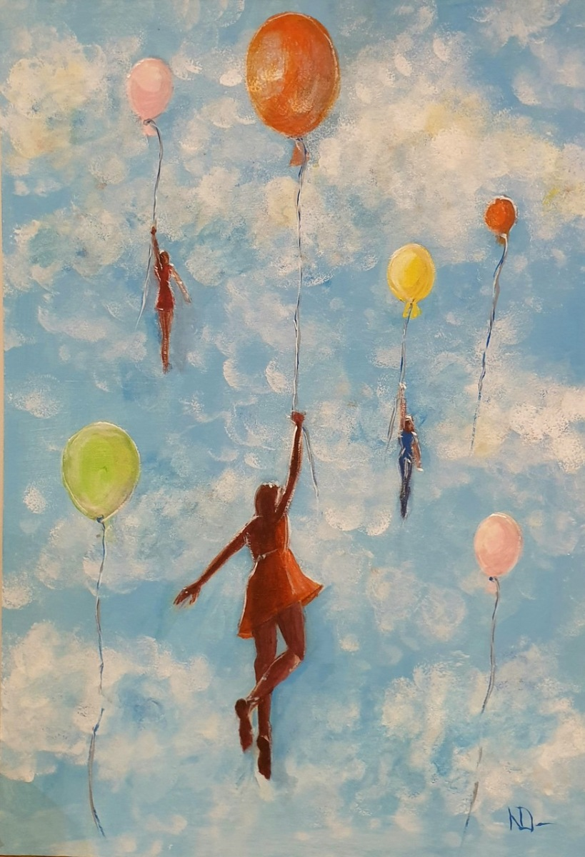 Natalie Doubrovski - On the Cloud Nine