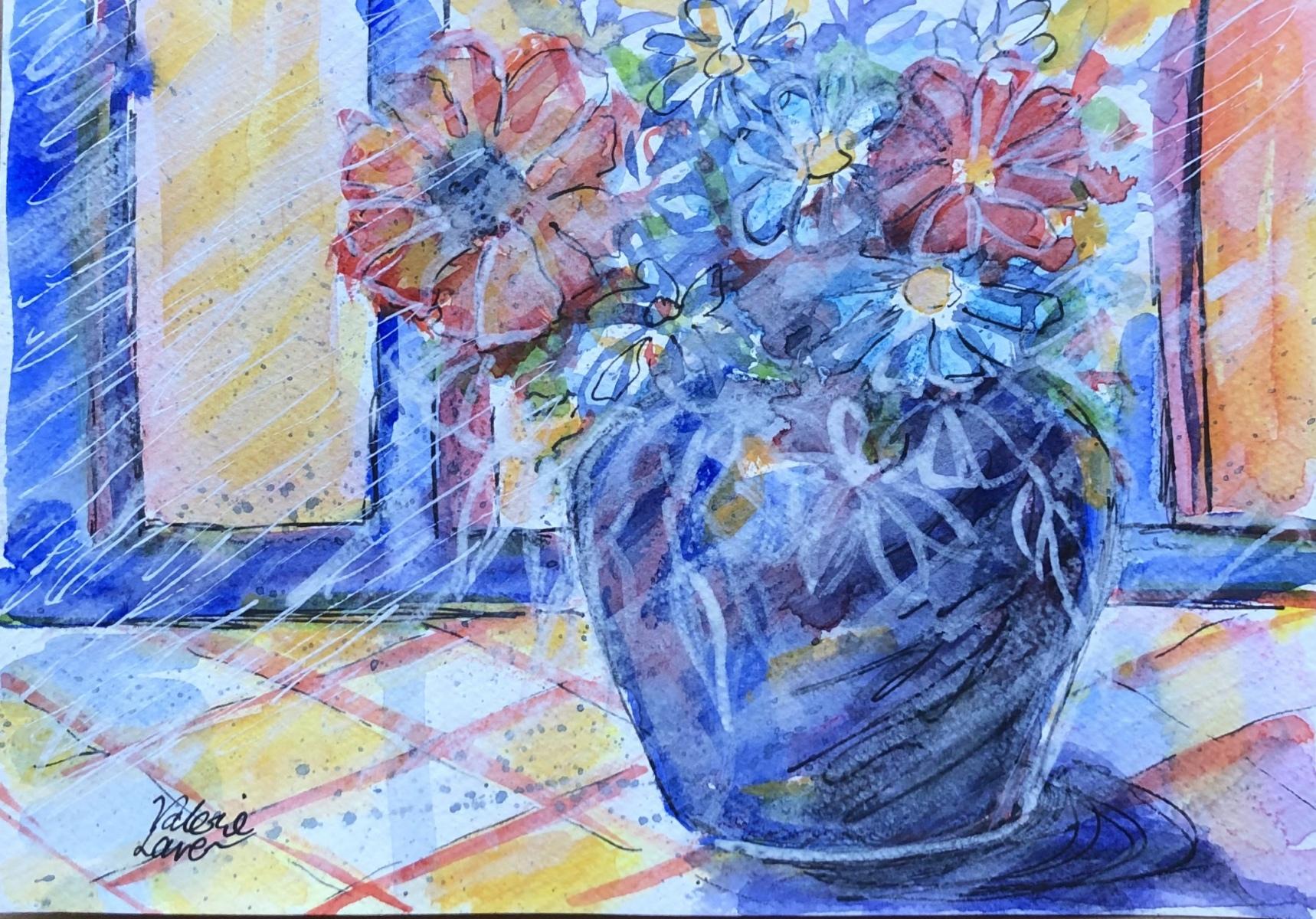 Valerie Laver - The Blue Vase