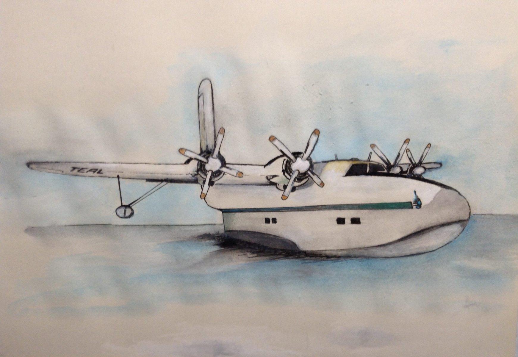 Flying Boat - Ian Hessels