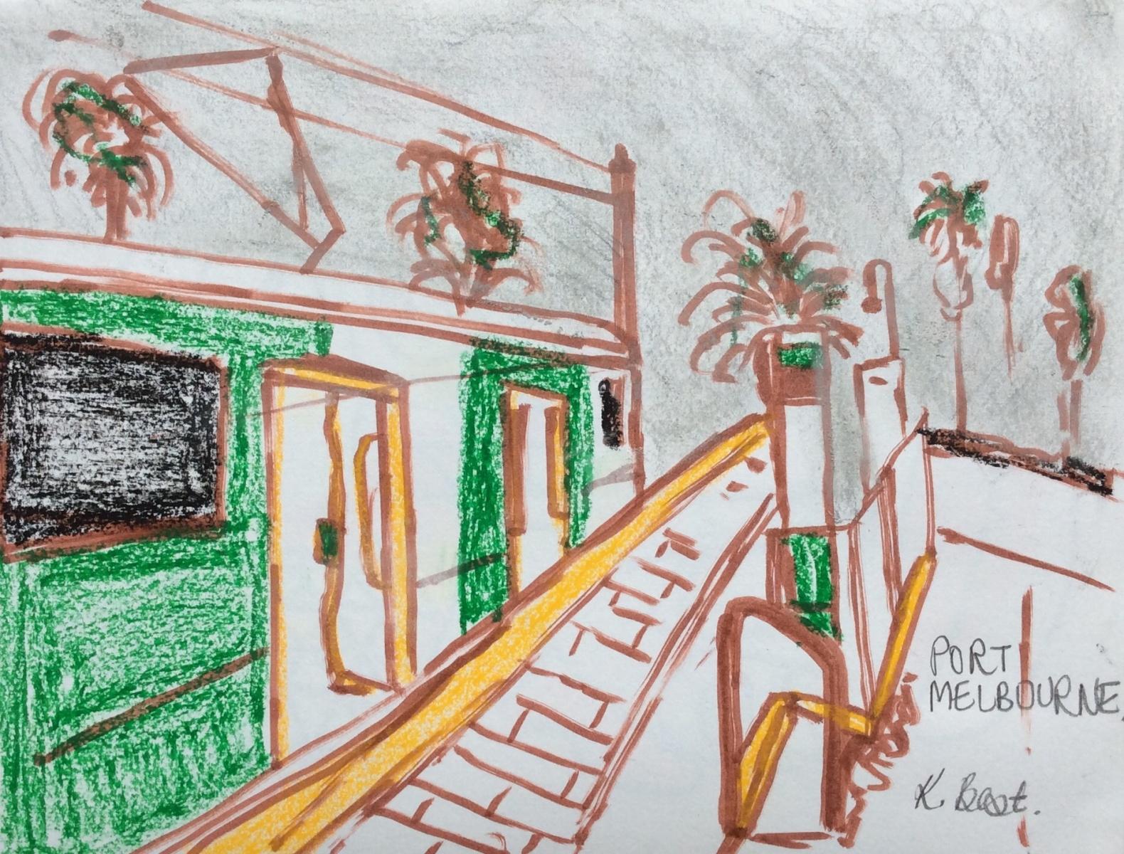 Port Melbourne Tram - Kathy Best