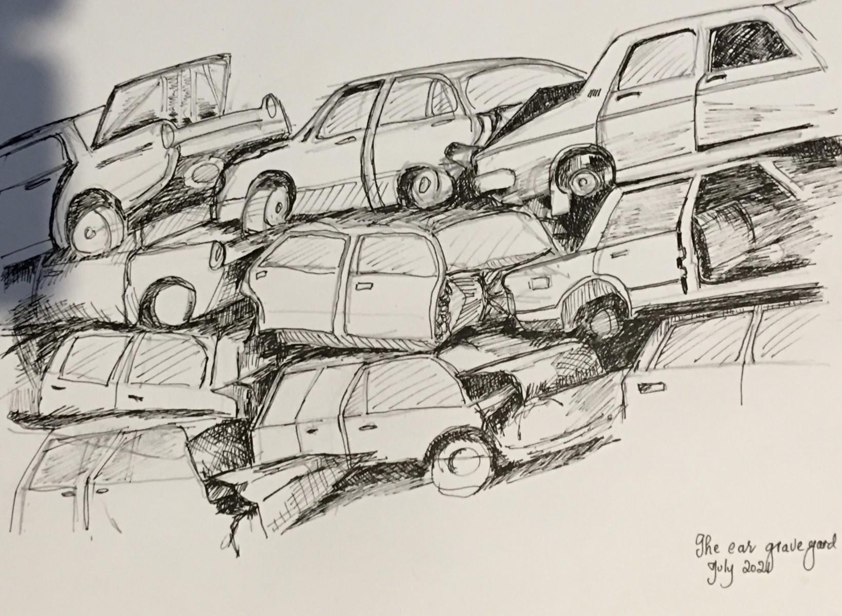 Car Graveyard - Shirley Melissas