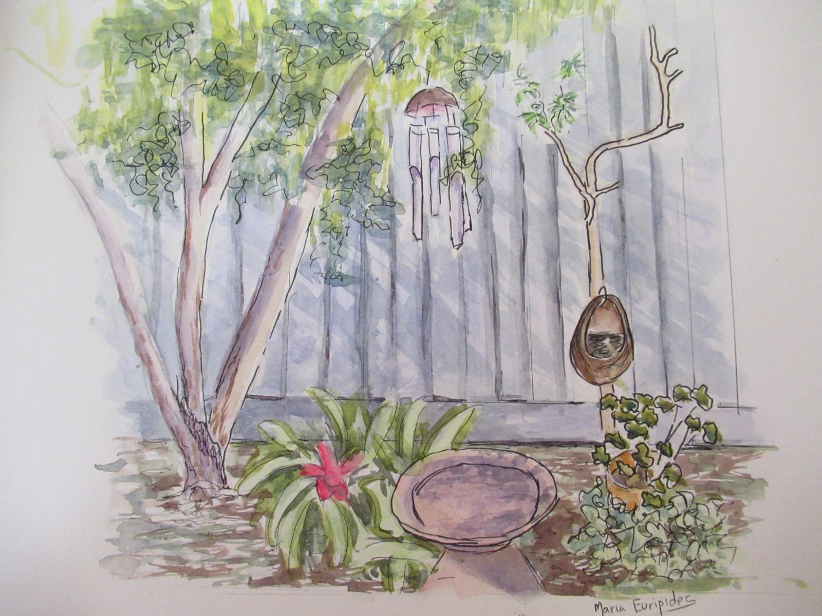 Maria Euripides - In My Garden