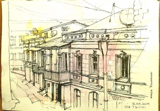 Natalie Doubrovski - Old Tbilisi, Georgia