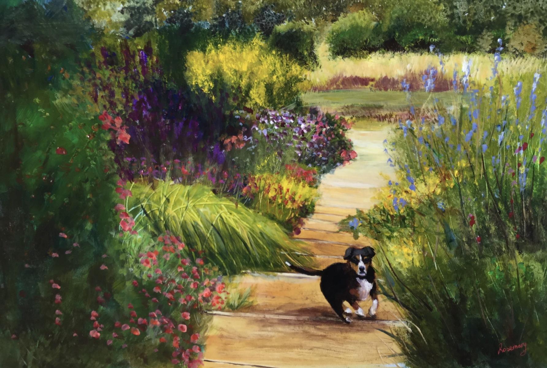 Rosemary Morgan - Down the Garden Path