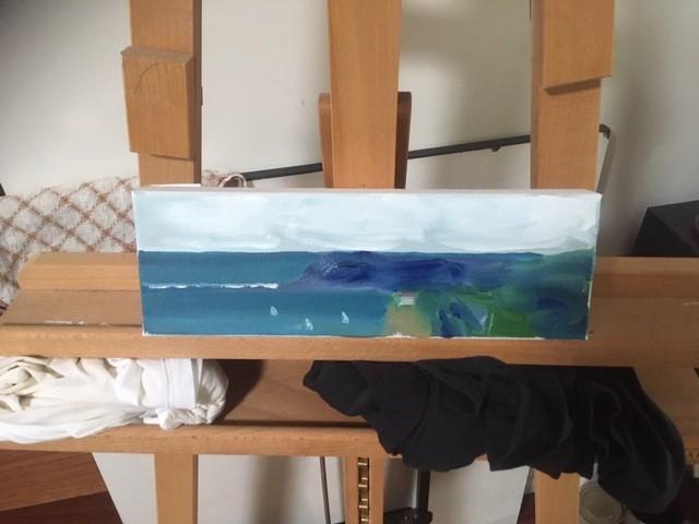 Liz Eades - Flinders Version II painted inside my car